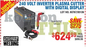 240V Inverter Plasma Cutter Coupon