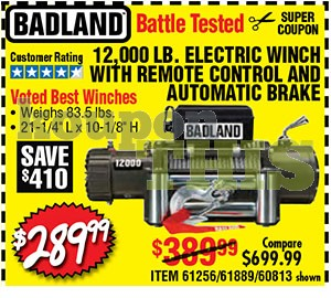 12,000-lb Electric Winch Coupon