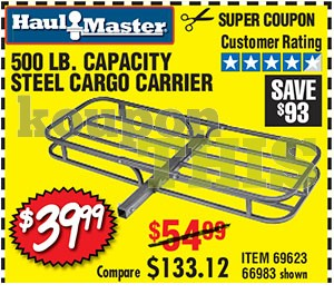 Steel Cargo Carrier Coupon
