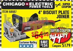 Biscuit Joiner Coupon